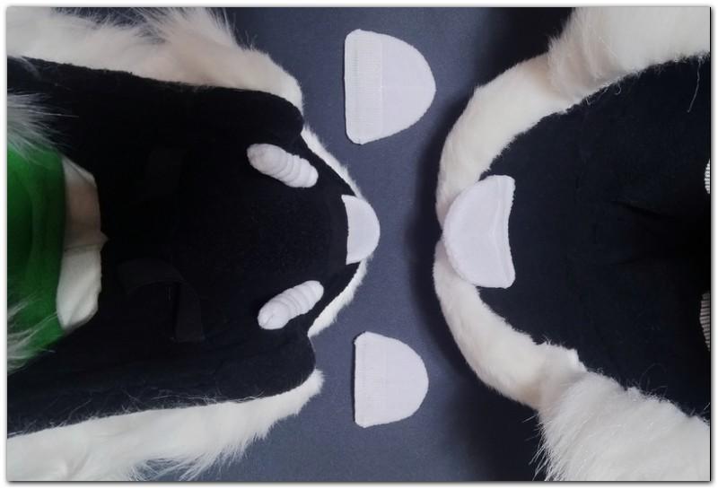 Teeth of fursuit project Hare #Thumper-The-Hare-fursuit #furr_club #fursuit
