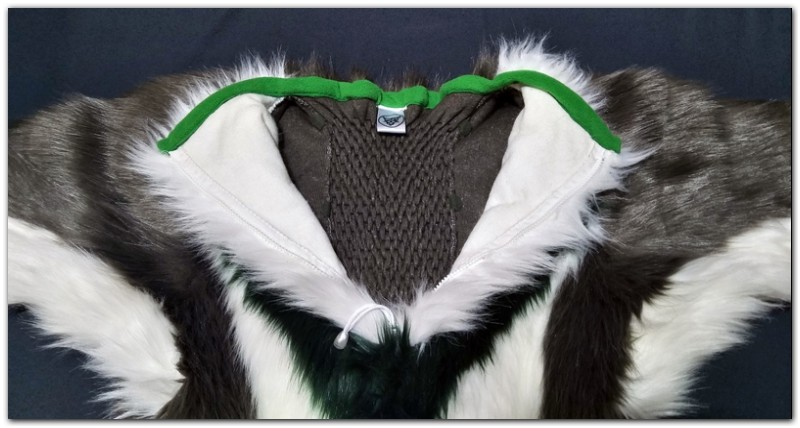 Zip of Hare fursuit project #Thumper-The-Hare-fursuit #furr_club #fursuit