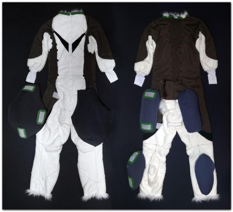 Overalls for Hare fursuit project #Thumper-The-Hare-fursuit #furr_club #fursuit