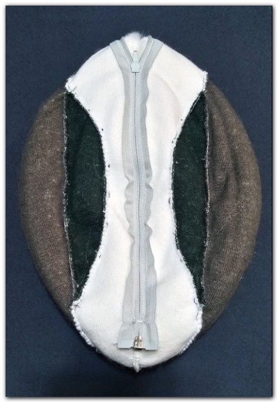 Tail of fursuit Hare #Thumper-The-Hare-fursuit #furr_club #fursuit #Tail