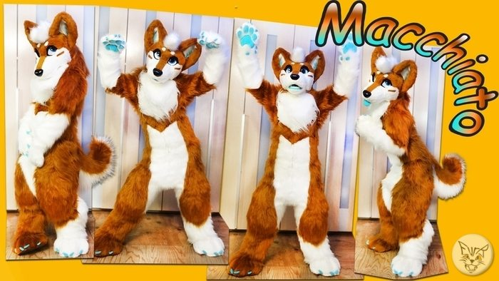 Project details of Macchiato Pup fursuit