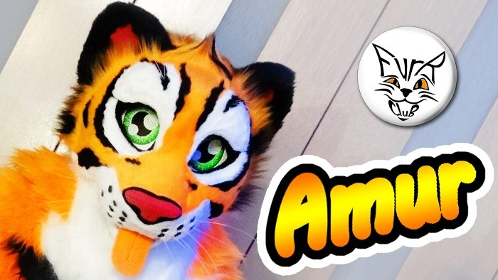 Amur the tiger fursuit