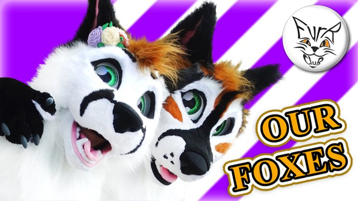 Photoset of Amur's fursuit