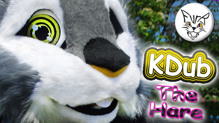 Fursuit KDub The Hare